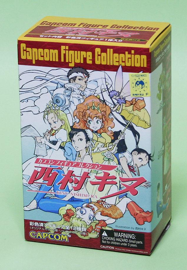 カプコン フィギュアコレクション 西村キヌ  全6種+リペイント6種 カプコン フィギュアコレク
